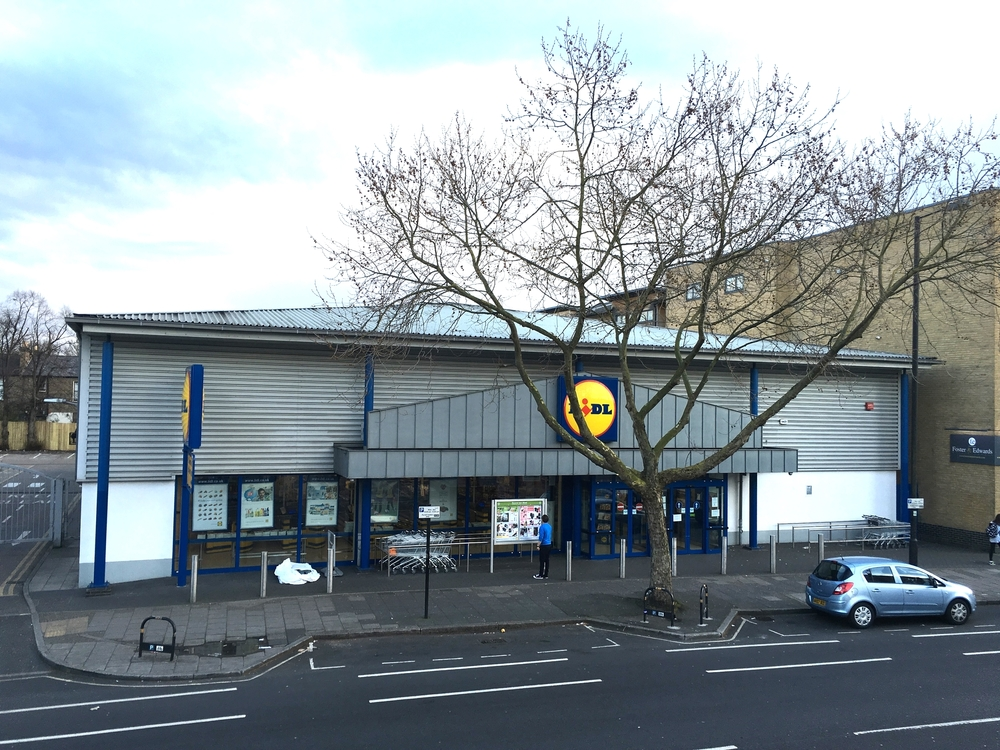 Brixton Lidl - while stocks last!