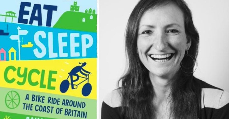 Eat Sleep Cycle by Anna Hughes