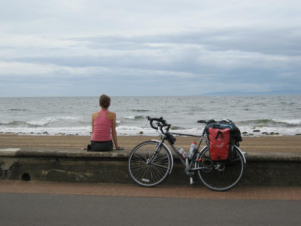 Anna Hughes followed the coastline for 4,000 miles around Britain with her trusty steed 'Randy' by her side