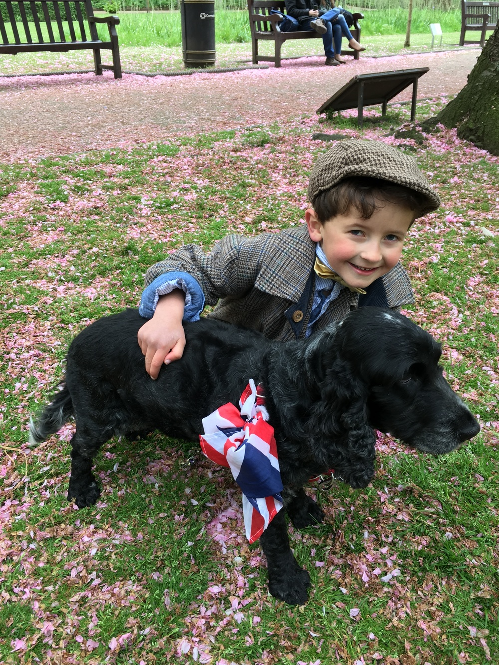 Accessorise your look with flags, dogs, children and flowers  image courtesy of Kelly Wise