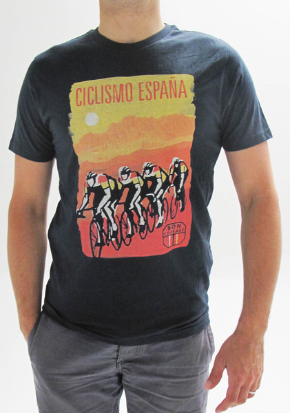 La Vuelta - our favourite T-shirt from  Bon Courage