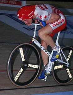Rival Graeme Obree on 'Old Faithful'