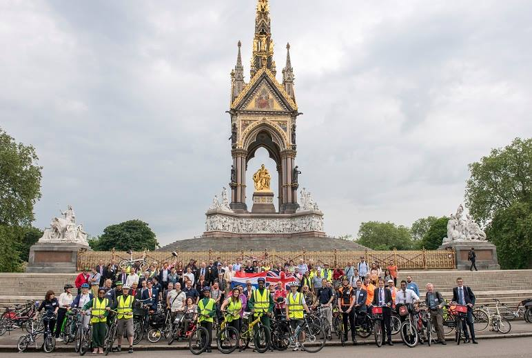The Parliamentary Bike Ride on Wednesday 8th June to launch Bike Week