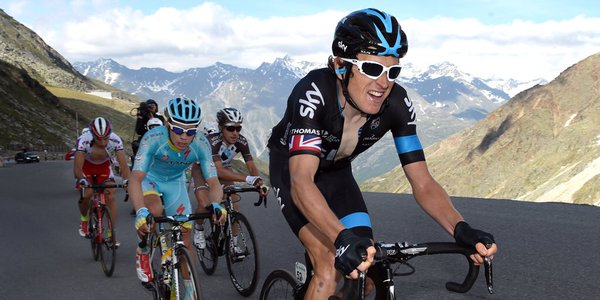 Geraint Thomas will work hard to protect Froome in the Tour (picture courtesy of Team Sky)
