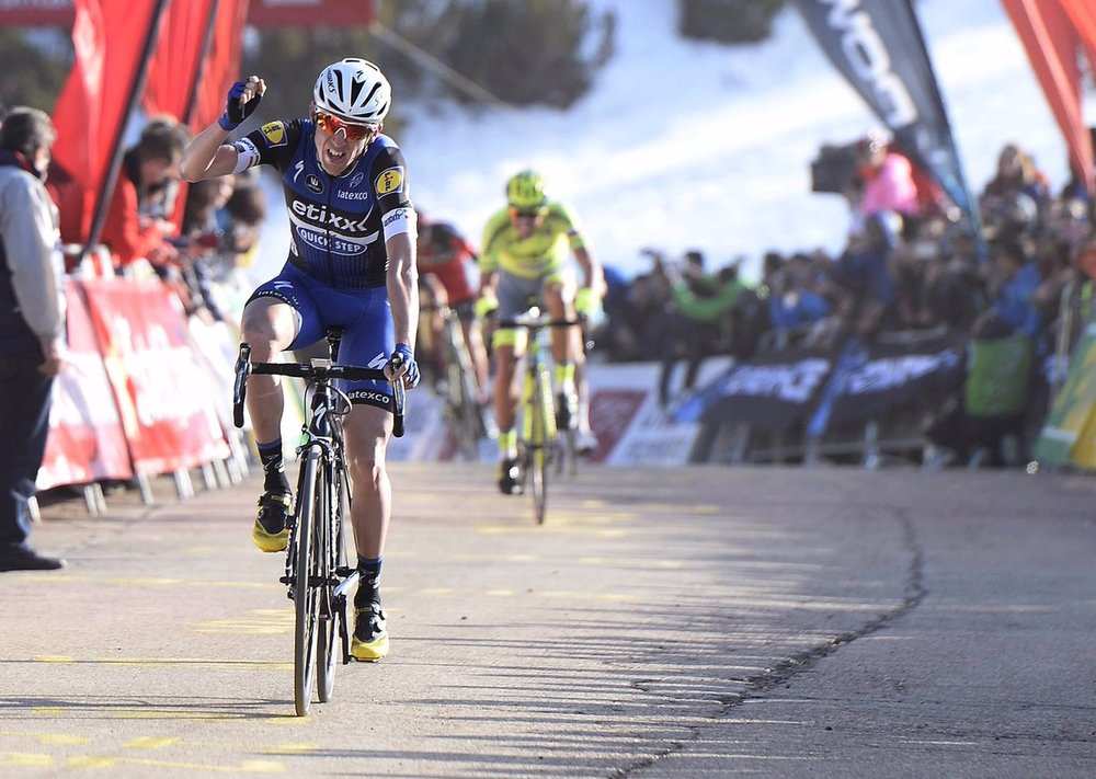 Dan Martin wins a stage (picture courtesy of Etixx Quickstep)