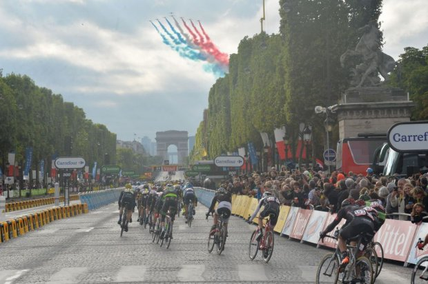 The Grand Finale on the Champs Élysées