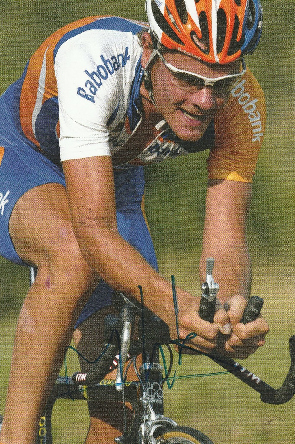 Marc Lotz rode the Tour de France five times (Photograph courtesy of autographe1.e-monsite.com)