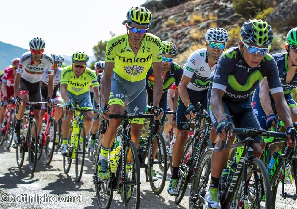 Contador is placed 12th and was injured yesterday
