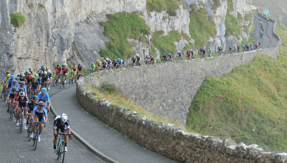 Expect 4,000m of climbing on Stage 4 (Picture courtesy of tourofbritain.co.uk)
