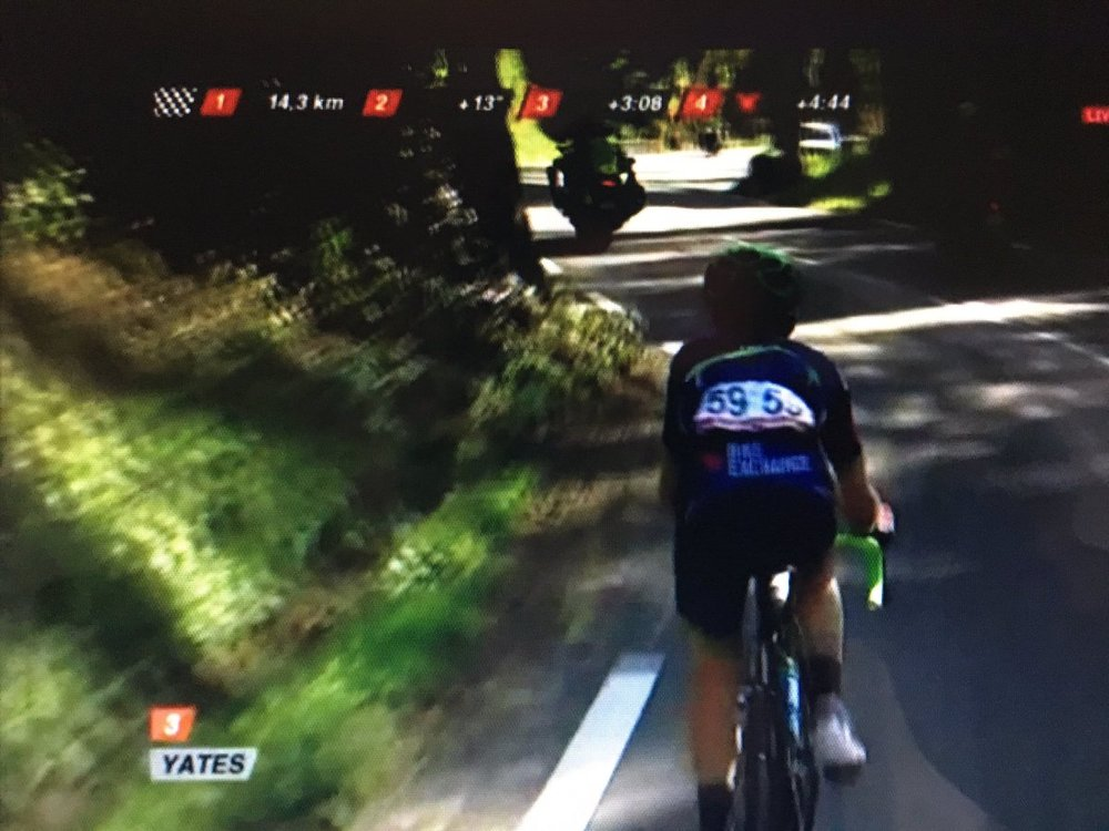 Fantastic ride from Yates moves him to fourth