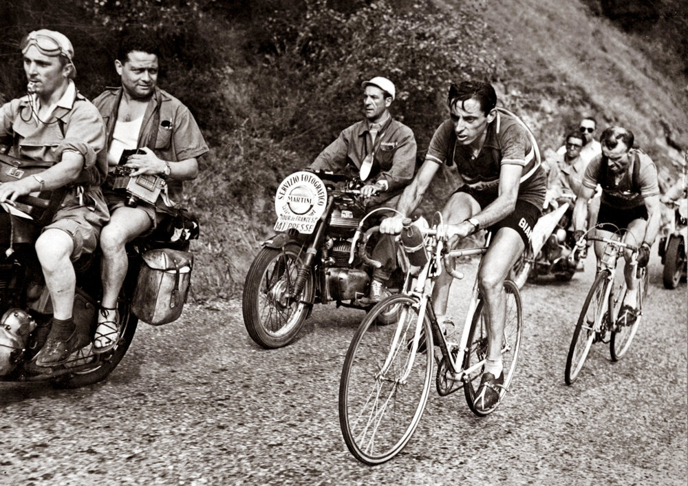 Fausto Coppi won five times