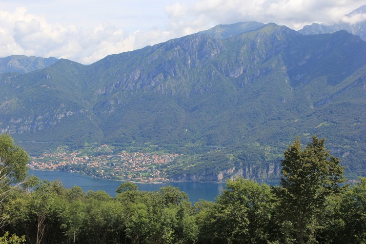 Lake Como is the stunning backdrop
