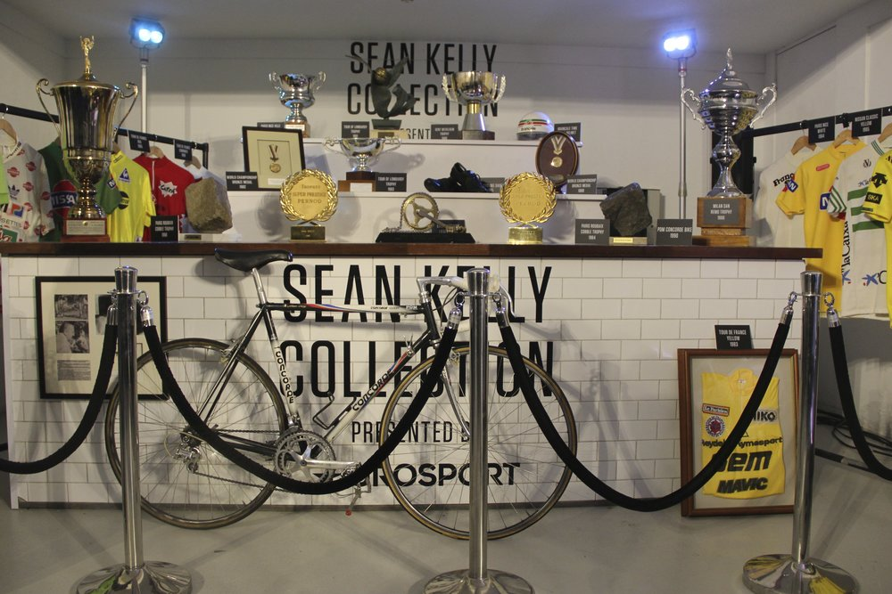Sean Kelly's magnificent collection of trophies and memorabilia
