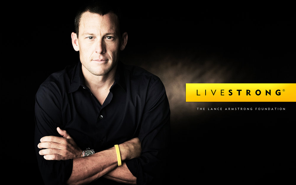 Live Strong - the Lance Armstrong Foundation - nothing to do with Ride Strong