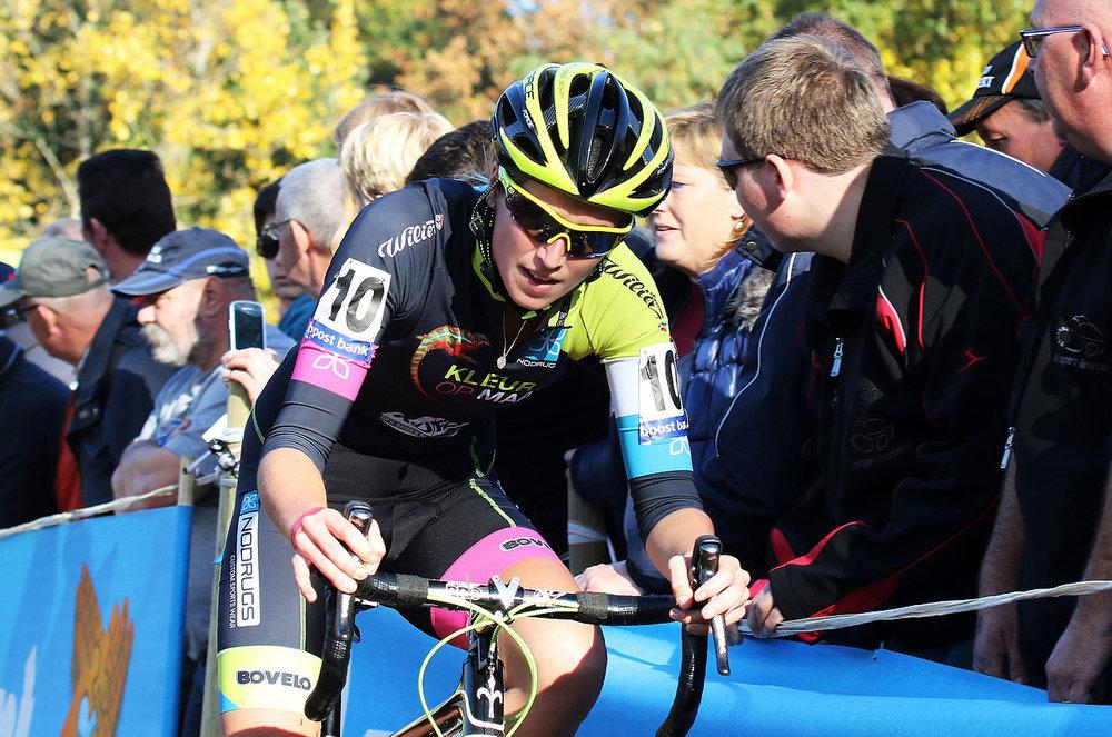 Femke Van den Driessche was found to have a motor in her spare bike