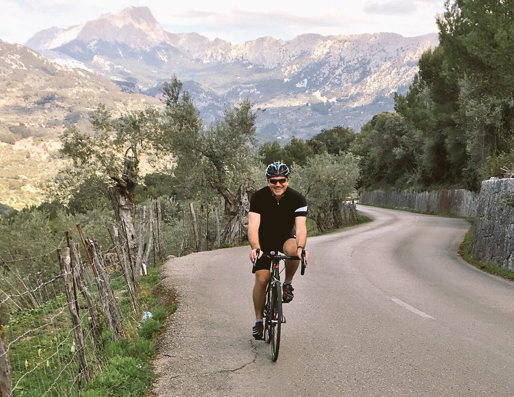 Classic ride - the climb between Soller and Deia on the Ma-10