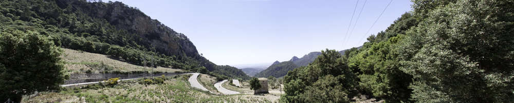 61 hairpin bends to Coll de Soller