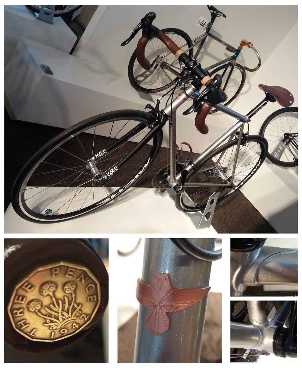 Henry Foxall's finely crafted bike