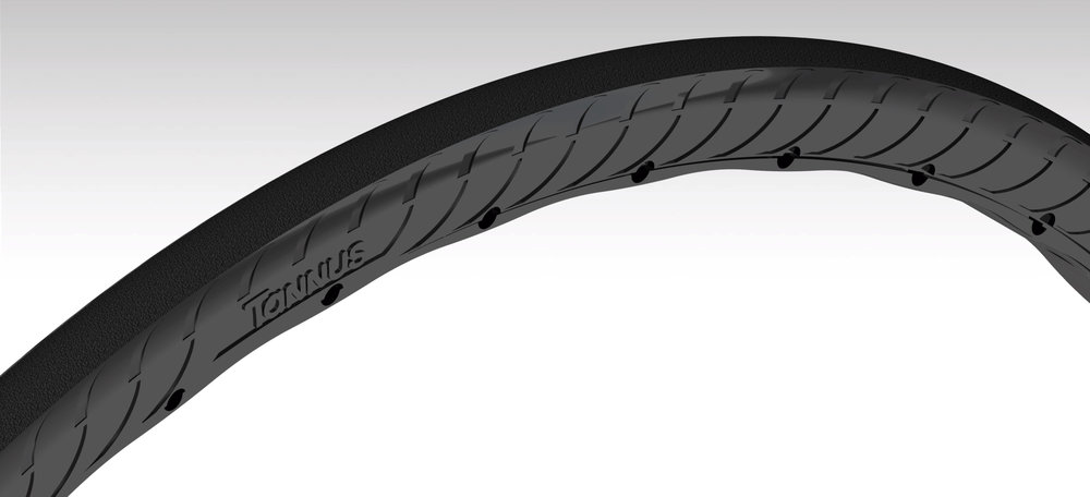 "The new Tannus tyre is ""vastly improved"""