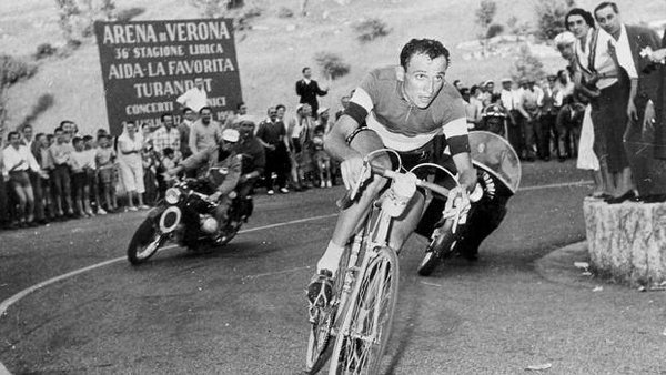 Ercole Baldini winning in 1958