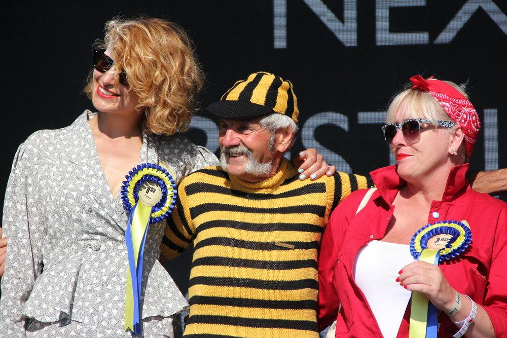 Luciano Berruti buzzes around the best dressed ladies