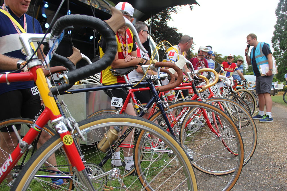 The restored bike competition
