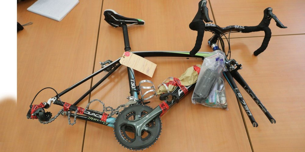 Fontayne's bike