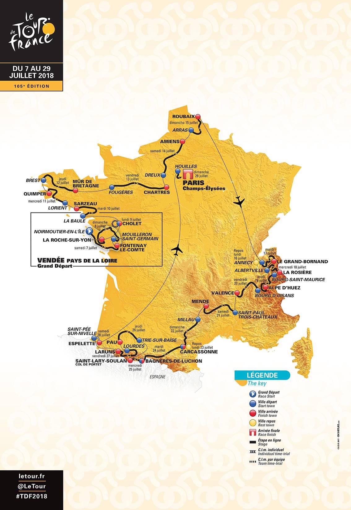 Where to Watch the 2018 Tour de France  - Magazine - Ride Velo 1094f7099