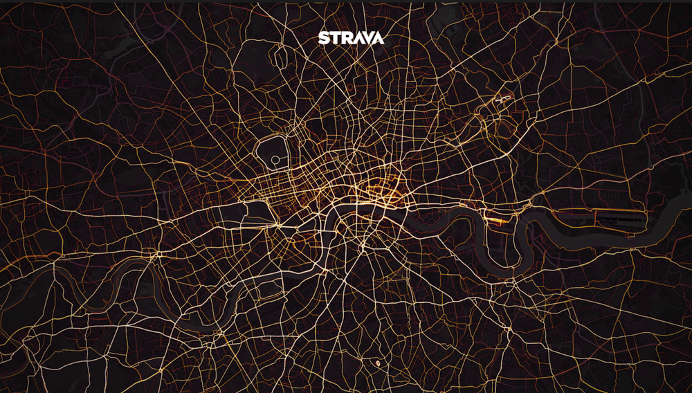 London Cycling Activity on Strava