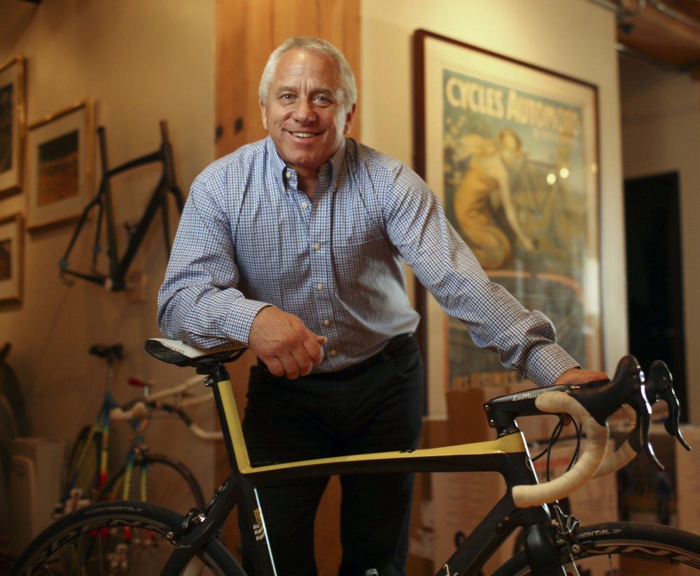 Greg LeMond won three Tour de France titles