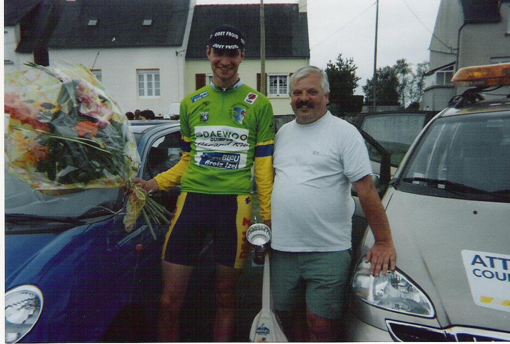 With Directeur Sportif Philippe Massé