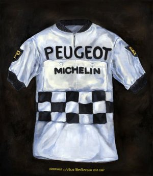 630eb0a99 Peugeot Jersey of Tom Simpson Print