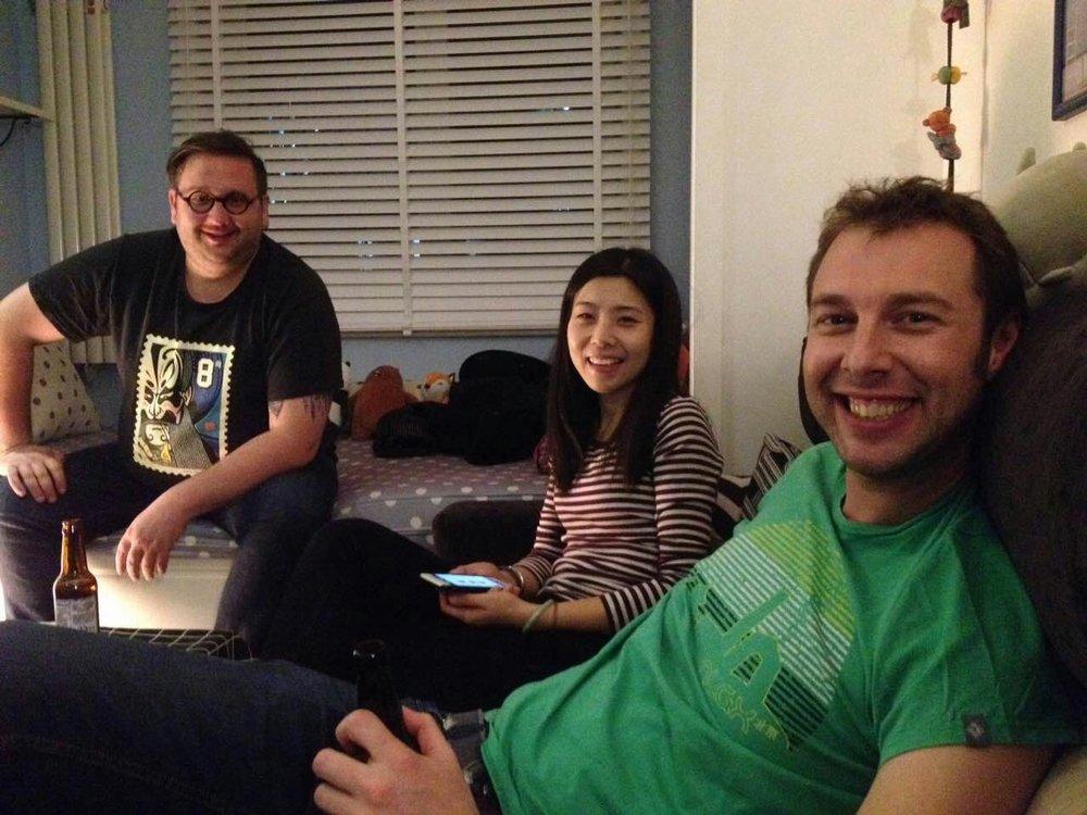 Matt Courtois, Tracy Yu, Ross Thorburn