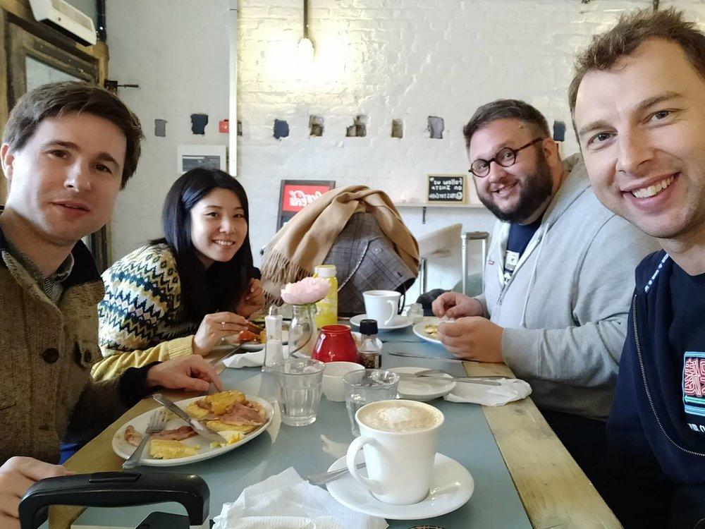 Post IATEFL 2019 Brunch with Simon, Tracy, Matt and Ross