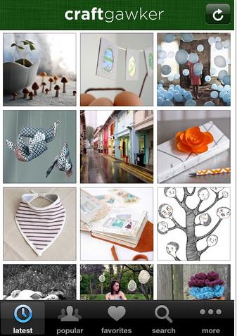craftgawker iphone app