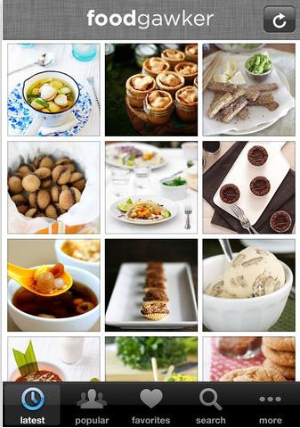 foodgawker iphone app