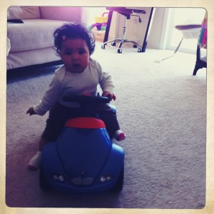 Baby on BMW