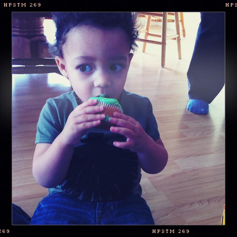 toddler cupcake