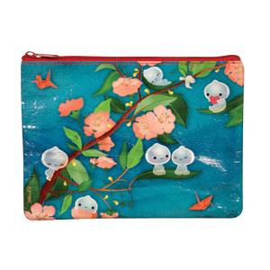 Spring Night Zipper Pouch