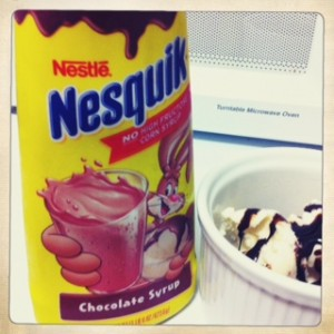 edy's butter pecan nesquik chocolate syrup i