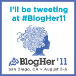 blogher tweting