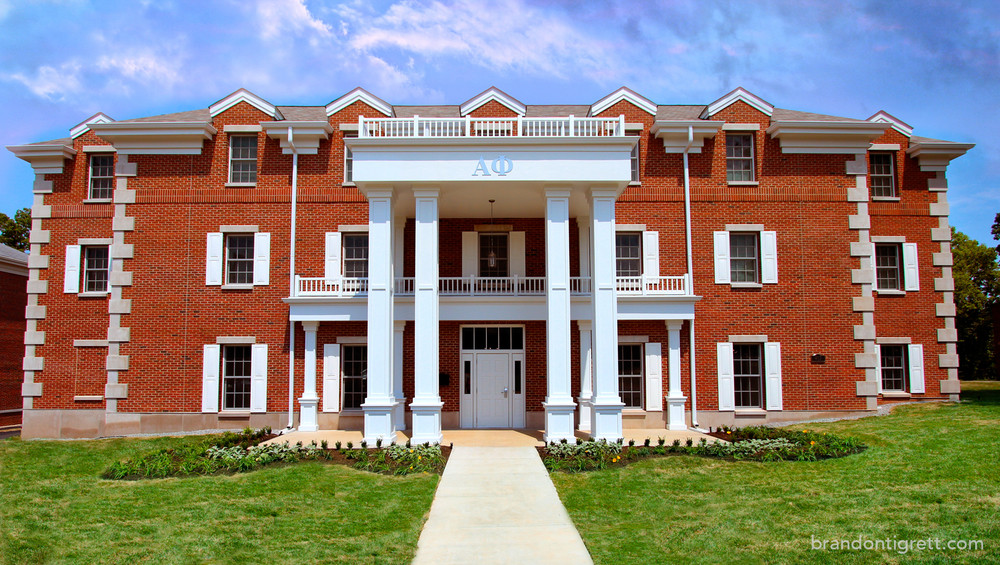 Alpha Phi Sorority House Iota Nu Chapter