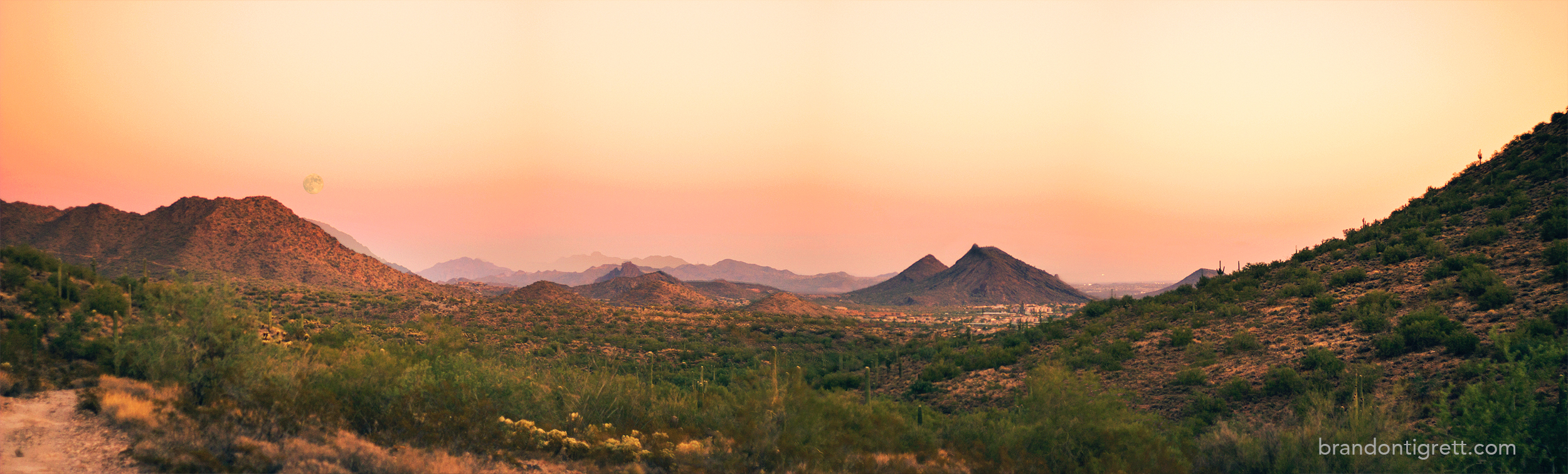 Lost Dog Trail Scottsdale, AZ Panoramic