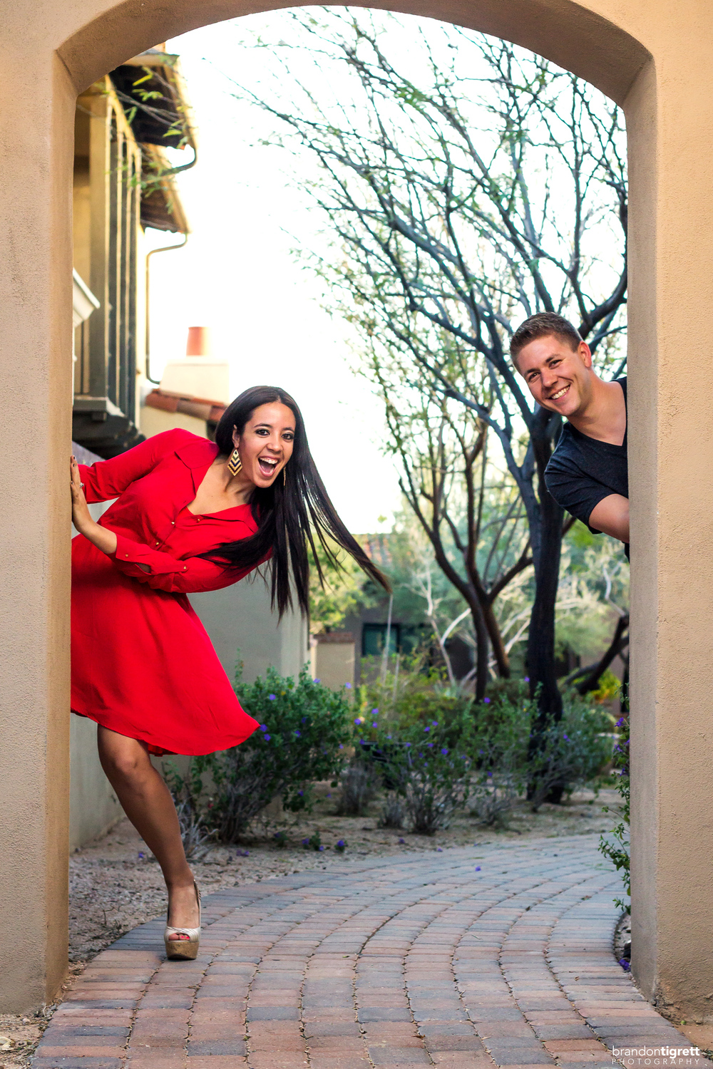 Fun couples photo - scottsdale photographer