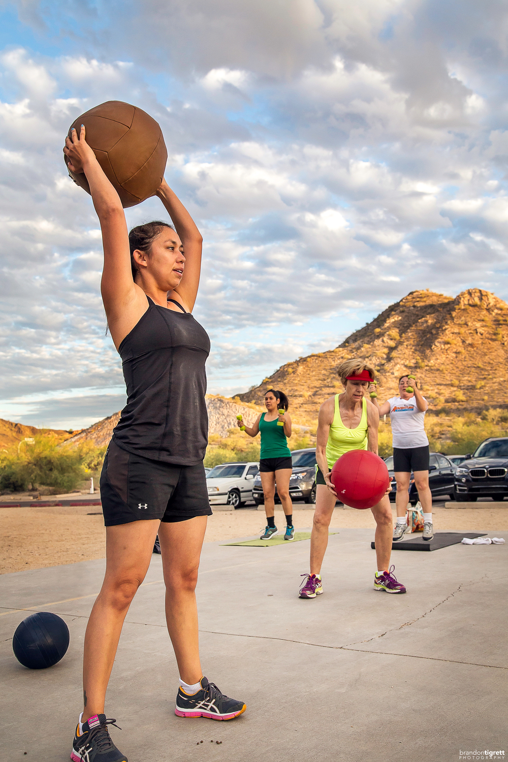 Medicine Ball Slam - Phoenix Adventure Bootcamp