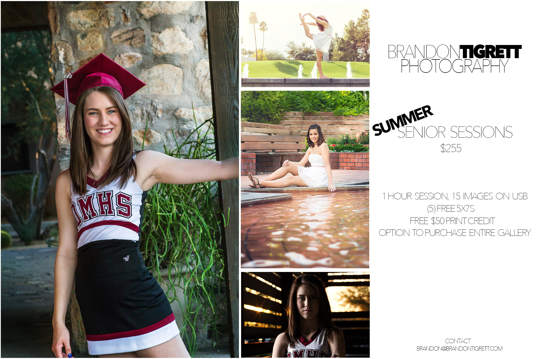 2015 Arizona High School Senior Photos promo