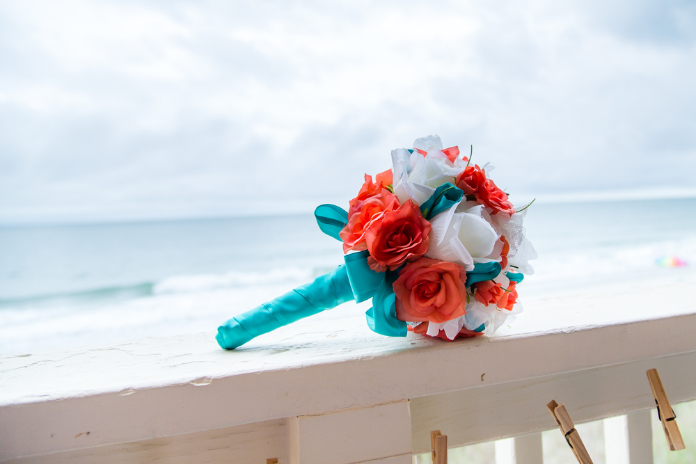 Beach Wedding - Bride's Bouquet