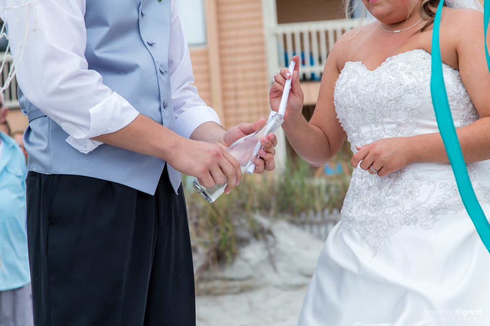 Beach Wedding Ceremony Photos