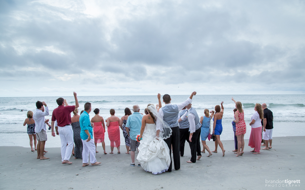 Beach wedding ceremony tradition