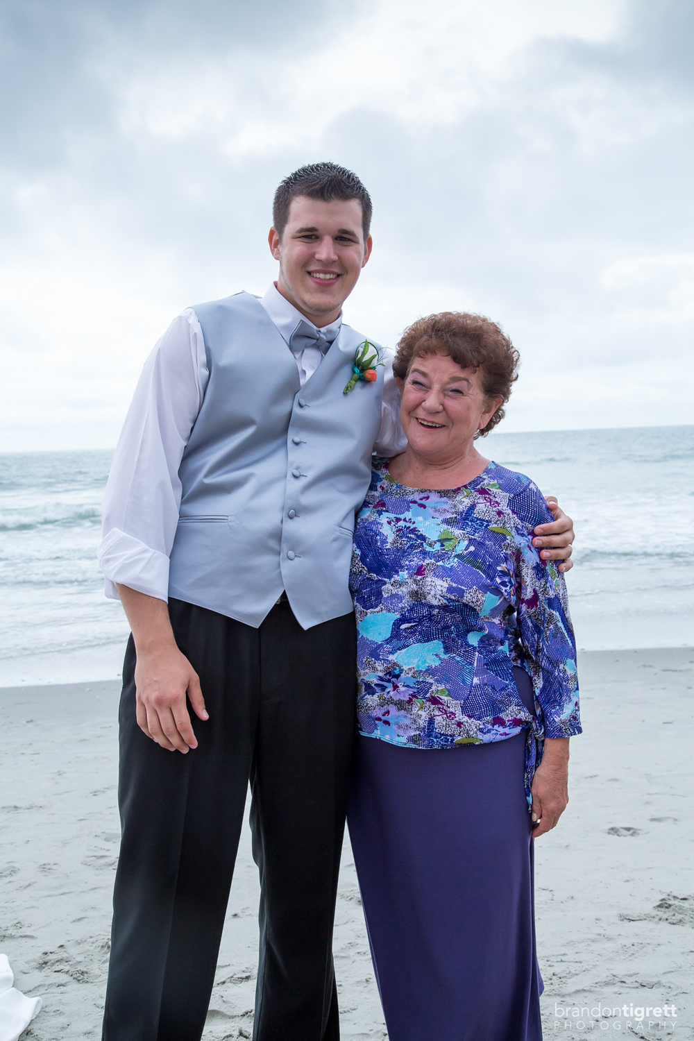 Groom with Grandma